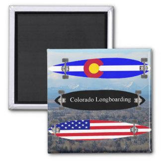 Colorado Longboarding Magnet
