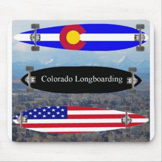 Colorado Longboarding Mouse Pad