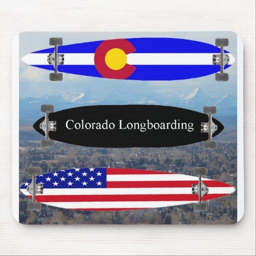 Colorado Longboarding Mouse Mats