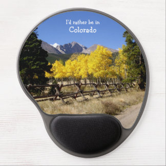 Colorado Long's Peak Gel Mousepad