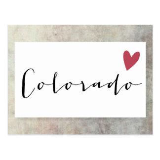 Colorado Love Postcard