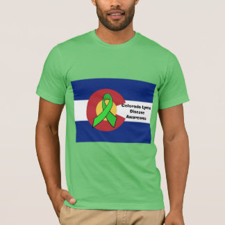 Colorado Lyme Disease Awareness Shirt