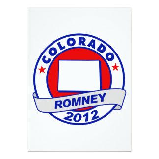 Colorado Mitt Romney 13 Cm X 18 Cm Invitation Card
