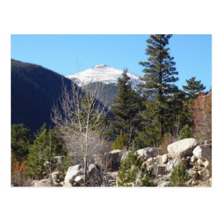 Colorado mountain postcard