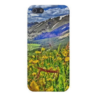 Colorado mountain scenery iphone case iPhone 5 cover