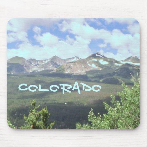 Colorado mountain scenic mousepad