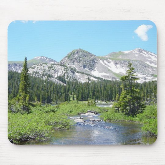 Colorado Mountain Splendour Mouse Pad