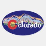 Colorado mountain stickers