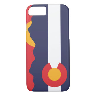 Colorado Mountain Sunset & Flag Case