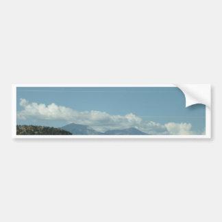 Colorado Mountain View Bumper Sticker