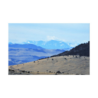 Colorado Mountain view Canvas Print
