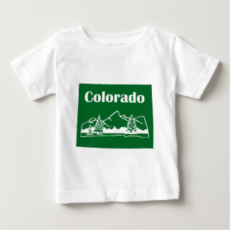 Colorado Mountains by U.S. Custom Ink Baby T-Shirt