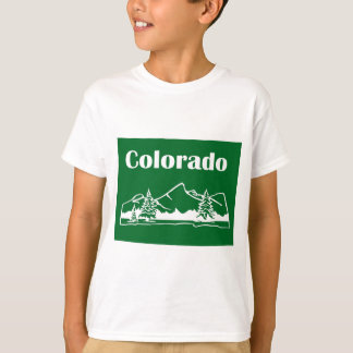 Colorado Mountains by U.S. Custom Ink T-Shirt