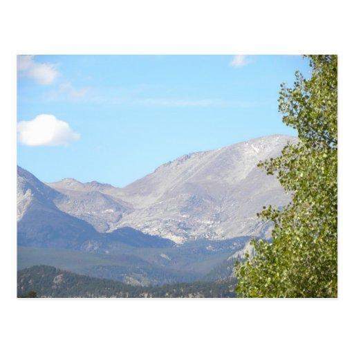 Colorado mountains post cards