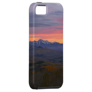 Colorado Mountains Sunset iPhone 5 Cases