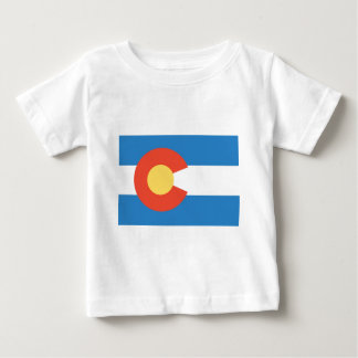 Colorado  Official State Flag Baby T-Shirt