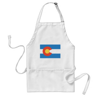 Colorado  Official State Flag Standard Apron