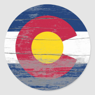 Colorado Old Paint Round Sticker