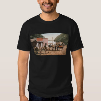 Colorado Pack Trail Ready for Miners 1904 Tee Shirts