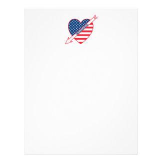 Colorado Patriot Flag Heart Flyers