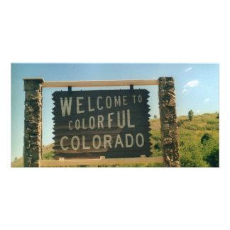Colorado Photo Card Template