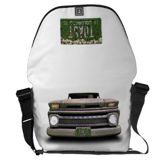 Colorado Pickup Truck Toasted Autos Messenger  Bag Courier Bag