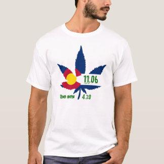 Colorado pot leaf T-Shirt