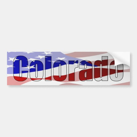 Colorado Pride Bumper Sticker
