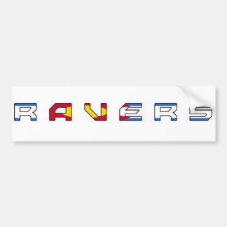 Colorado Ravers Sticker Bumper Sticker