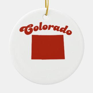 COLORADO Red State Ornament