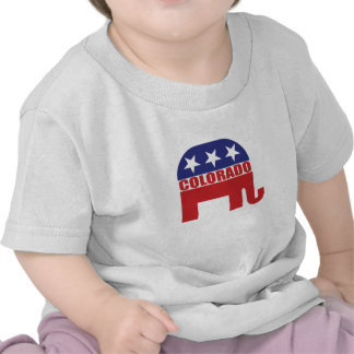 Colorado Republican Elephant T Shirts