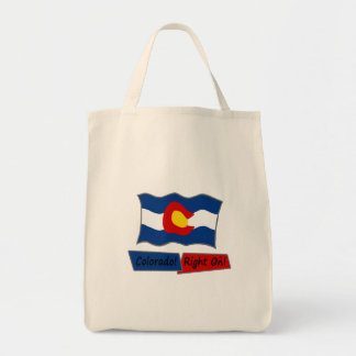 Colorado!  Right On!  Grocery Bag