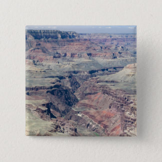 Colorado River flowing through the Inner Gorge 15 Cm Square Badge