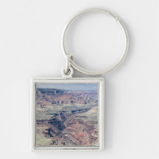 Colorado River flowing through the Inner Gorge Silver-Colored Square Key Ring