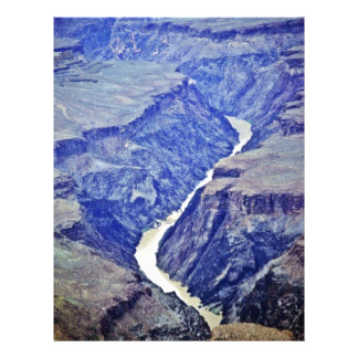 Colorado River - Grand Canyon 21.5 Cm X 28 Cm Flyer