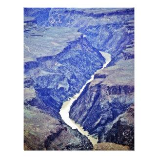 Colorado River - Grand Canyon 21.5 Cm X 28 Cm Flyer