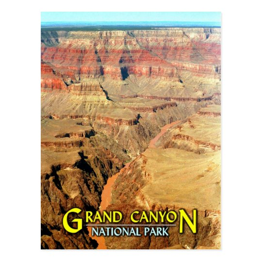 Colorado River, Grand Canyon National Park Postcard