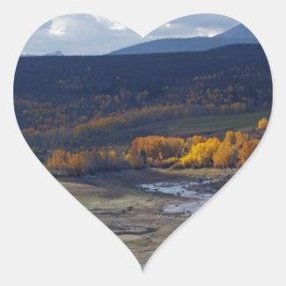 Colorado River Heart Sticker