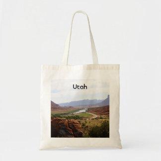 Colorado River in Utah Tote Bags