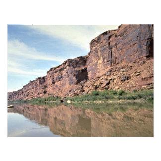 Colorado River Utah USA Personalized Flyer