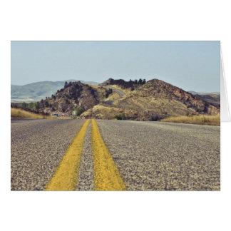 Colorado Road Trip Card