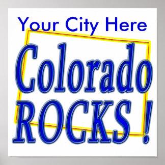Colorado Rocks ! Poster