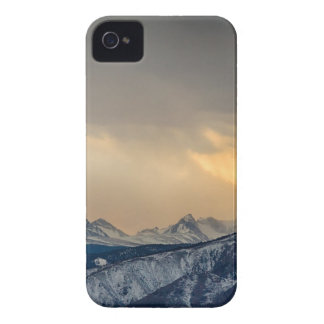 Colorado Rocky Mountain Continental Divide Gold Case-Mate iPhone 4 Cases