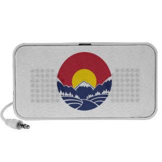 Colorado Rocky Mountain Emblem Portable Speakers