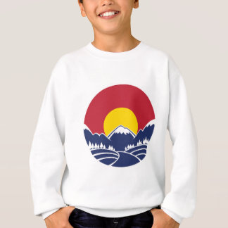 Colorado Rocky Mountain Emblem Sweatshirt