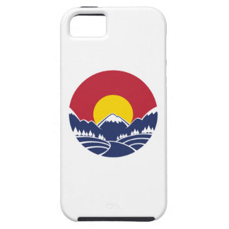 Colorado Rocky Mountain Emblem Tough iPhone 5 Case