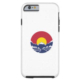 Colorado Rocky Mountain Emblem Tough iPhone 6 Case