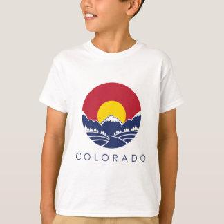 Colorado Rocky Mountain State Flag T-Shirt