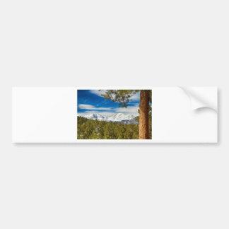 Colorado Rocky Mountain View Bumper Stickers