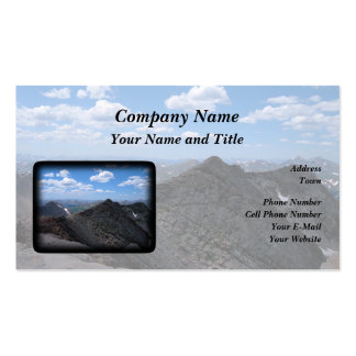 Colorado Rocky Mountains: Moonscape Business Card Template